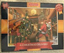 Waddingtons A Christmas Delivery 1000 Piece Jigsaw Puzzle New Sealed