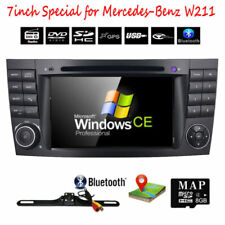 7'' HD Headunit Car DVD Player Stereo GPS Radio BT for Mercedes-Benz E-W211 W219
