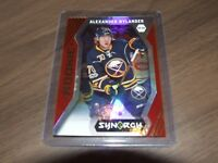 2017-18   Upper Deck Synergy Red Rookies #72 alexandre nylander