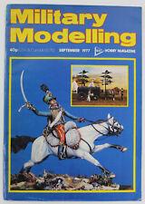 Military Modelling: Hobby Magazine, September 1977 - British Cavalry