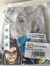Comic Con SDCC 2016 Tokidoki WOW World of Warcraft Exclusive Shirt WOMENS