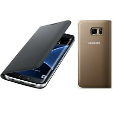 Genuine Samsung FLIP CASE GALAXY S7 EDGE smartphone book cover original sm g935