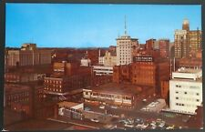 1960s Des Moines Skyline, As Seen from Fort Des Moines Hotel, Des Moines, IA