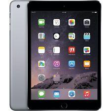 NEW Apple iPad Mini 3 64GB, Wi-Fi + Cellular (Unlocked), 7.9in Retina - Gray