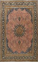 Antique Floral Ardakan Traditional Area Rug Hand-knotted Wool Large Carpet 10x12
