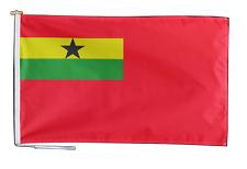 Ghana Rouge Ensigne Drapeau 3'x2' (90cm x 60cm) Avec Rope Et Bouton - un Dernier