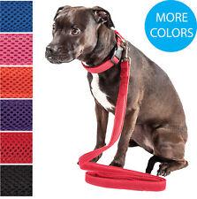 Pet Life 'Aero-Mesh' 2-in-1 Dual-Sided Adjustable Mesh Pet Dog Collar and Leash
