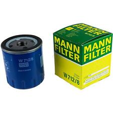 Original MANN-FILTER Ölfilter Oelfilter W 712/8 Oil Filter