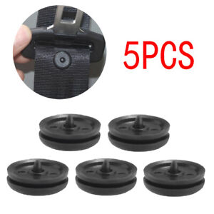 5x Car Part Clips Seat Belt Stopper Button Safety Buckle Fastener Accessories