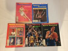 LOT OF VINTAGE SPORTS ILLUSTRATED BASKETBALL MAGAZINES 1965-1973 COLLEGE UCLA
