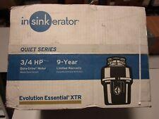 InSinkErator Evolution Essential XTR Garbage Disposal with Cord & SinkTop Switch