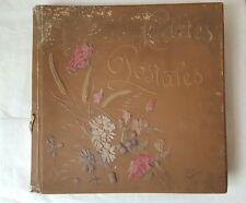 Album 222 Cartes Postales Anciennes - Europe Afrique du Nord neuves et circulées