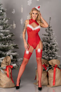 LIVCO CORSETTI Limpid Snowflakes Body, Headband and Matching Stockings Set