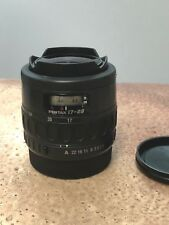 Pentax SMCP- FA 17-28mm f/3.5-4.5 Lens Fisheye, Full Frame !! Excellent