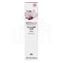 Derma E Evenly Radiant Overnight Peel With Alpha Hydroxy Acids 2 Oz