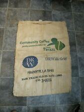 More details for large hessian jute coffee sack