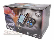 Autopage RF425 2-WAY LCD Pager Complete Car Alarm Keyless Entry System