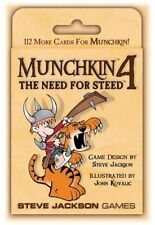 Munchkin 4 The Need for Steed by Steve Jackson Games
