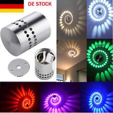 Effektlicht RGB LED 3W Wandlampe Wandleuchte mit Fernbedienung Deckenlampe  NEU