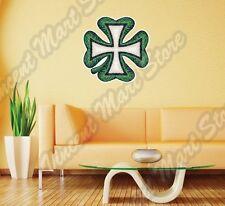 "Shamrock Clover Irish Ireland Luck Draw Wall Sticker Room Interior Decor 22""X22"""
