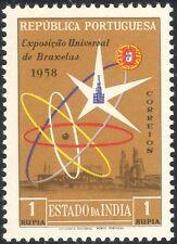 India portoghese 1958 EXPO/Esposizione/Edifici/architettura/Atomium 1 V (n37349)