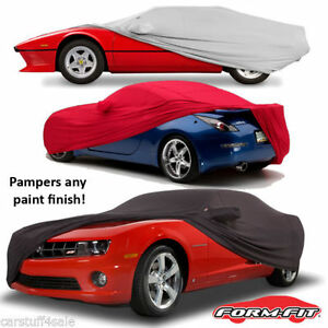 FS9976F5 Black Covercraft Custom Fit Car Cover for Select Ford Mustang Models Fleeced Satin