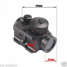 Holographic Red Green Micro Dot Scope Laser Sight Fits 21mm Picatinny Rail Mount