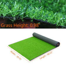 5x3.3ft Fake Grass Mat Synthetic Landscape Artificial Turf Lawn Yard Landscape