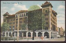Postcard CLARKSBURG WV Waldo Hotel View #1 1907?