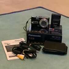 Panasonic LUMIX DMC-TZ3 7.2MP Digital Camera (black) w/ Leica lens