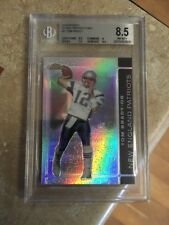 2007 Topps Finest Black Refractor TOM BRADY BGS 8.5 MINT /99 SHARP! SP G.O.A.T!