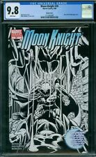 Moon Knight 20 CGC 9.8 - White Pages - Sketch Cover