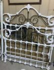 Antique cast iron bed frame Mid 1800 s
