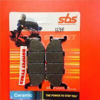 SBS Full Front Set Ceramic Brake Pads 624HF TRIUMPH 955 SPEED TRIPLE 99-ON