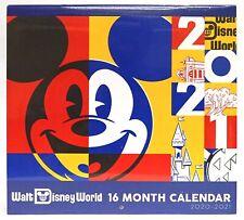 New Disney Parks Walt Disney World 16 Month 2020 - 2021 Calendar