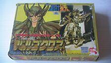 SAINT SEIYA VINTAGE: SAINT GOLD VIRGO SHAKA GRAPPE EXCELLENT BANDAI JAPAN 1987