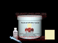 OFF WHITE TOPCOAT / FLOCOAT 250g kit FOR FIBREGLASS moulds, resin boat repair