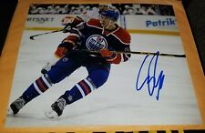 CONOR MCDAVID OILERS SIGNED 8X10 PHOTO W/ PROOF PIC