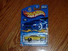 Hot Wheels 2002 #110 Hot Rod Magazine 70 Roadrunner Yellow 5SP's Chrome