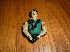 G.I. JOE GI 1980's Vintage Toy Action Figure  #A70 Man with Mustache Beret RARE