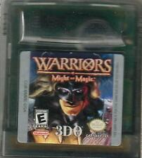 - warriors of Might and Magic Game Boy Color (Advance, sp) - bon -