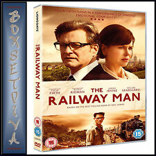 THE RAILWAY MAN -  Colin Firth & Nicole Kidman **BRAND NEW DVD**