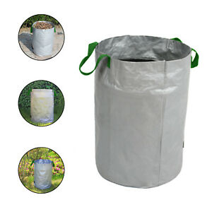 Garden Garbage Bags Fabric Leaf  Pack Foldable With Handles Water Resistant