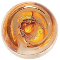 Caithness Glass U16028 Celebration 50 Anniversary Paperweight