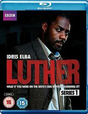 Luther Complete Series 1 Blu Ray All Episodes First Season Original UK Release