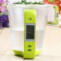 Elektronische Küchenwaage Messbecher Digital Beaker Tempera Libra Lcd Displ O0Y7