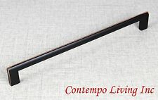 """10-5/8"""" Key Shaped Kitchen Bath Cabinet Pull Handle w/ Oil Rubbed Bronze Finish"""