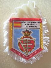 collection fanion REAL FEDE ESPAGNOL De FUTBAL club  espagnol football  sport
