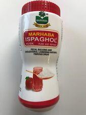 MARHABA ispaghol chilka Psyllium Lolla Plantago Ovata 100% puro 150g