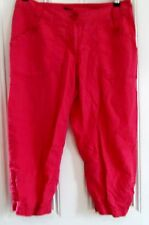 Vintage 1990's H & M womens red peddle pushers